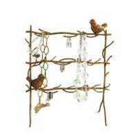 Birds on Branch Metal Jewellery Holder - Storage & Reminders - 34.99 - The Contemporary Home Online Shop