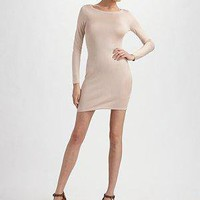 Ralph Lauren Black Label - Silk Crewneck Shift Dress - Saks.com