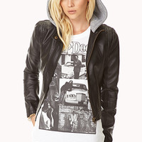 Cool Girl Cropped Bomber Jacket
