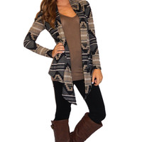 Aztec Cardigan | Girly Girl Boutique
