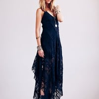 Free People Womens FP ONE Cast Away Gown - Black
