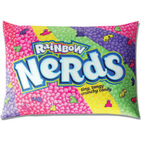 Rainbow Nerds Squishy Candy Pillow | CandyWarehouse.com Online Candy Store