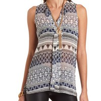 Hi-Low Tribal Print Tunic: Charlotte Russe
