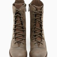 Shoe Cult Diverge Combat Boot - Brown