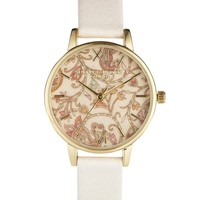 Olivia Burton Flower Face Wonderland Watch at asos.com