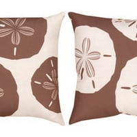 Climaweave Sand Dollar Reversible Pillow