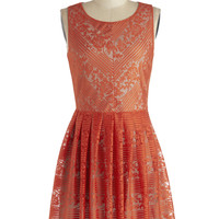 ModCloth Mid-length Sleeveless A-line The Ingenue You Dress