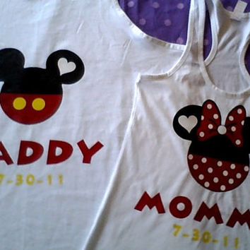 Free Two Day Shipping For US Mommy& Daddy Family of 4 Shirts