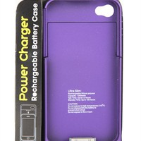 Rechargeable Battery iPhone 4 and 4S Case