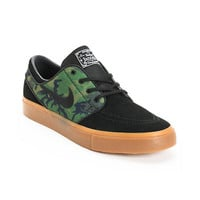 Nike SB Zoom Stefan Janoski Jungle Camo & Black Shoe at Zumiez : PDP