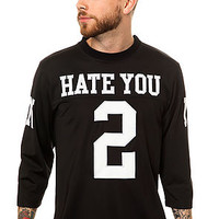 The UNIF Hate Jersey in Black