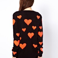 Only Heart Jumper at asos.com