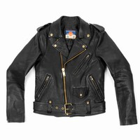 BLACKMEANS MOTO JACKET - MEN - BLACKMEANS - OPENING CEREMONY