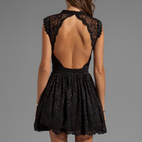 Alexis Vendela Short Lace Dress in Black from REVOLVEclothing.com