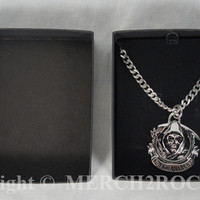 Sons of Anarchy Stainless Steel Necklace - Reaper Logo