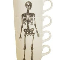 Luna &amp; Curious &amp;mdash; Skeleton Espresso Cup Stack