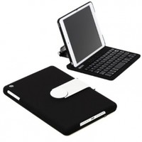 New SHARKK Apple iPad Mini Keyboard Bluetooth Case Cover Stand For 7.9 Inch New Mini iPad With 360 Degree Rotating Feature And Multiple Viewing Angles. Folio Style with IOS Commands. For the iPad MINI ONLY:Amazon:Computers & Accessories