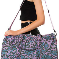 Herschel Supply Bag Duffle Ravine in Purple Leopard