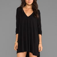 Riller & Fount Kevin Tunic Dress in Black
