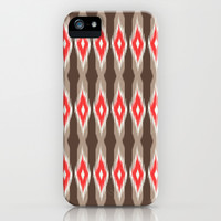 Aztec Tribal iKat Inspired Pattern Design  iPhone & iPod Case by TRM Design