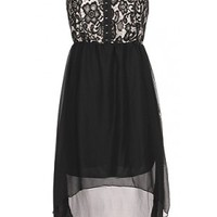 The Evening High Low Dress