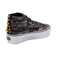Vans SK8 Hi Platform Shoe, Black | Journeys Shoes