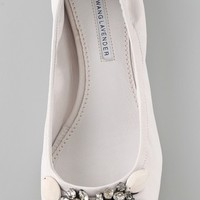 Vera Wang Lexi Jeweled Ballet Flats | SHOPBOP