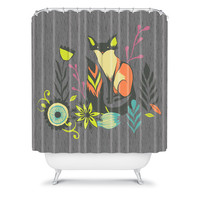 DENY Designs Home Accessories | Sarah Watts Sly Fox Shower Curtain
