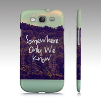 "Samsung Galaxy S3 ""Somewhere"" - $35.00 - Handmade Accessories, Crafts and Unique Gifts by Vintage Skies Photography & Designs"