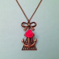 NEW - A Glamorous Life at Sea Necklace