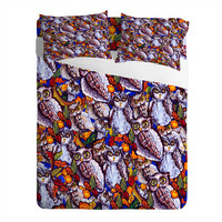 DENY Designs Home Accessories | Renie Britenbucher Owls Multi Sheet Set