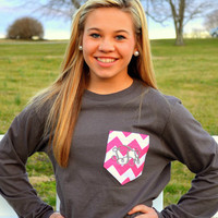 Monogram Pocket T-Shirts