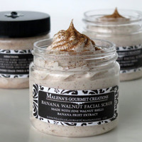 Banana Walnut Facial Scrub