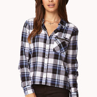 Minimalist Plaid Shirt