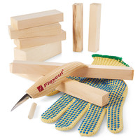 Beginners Whittling Kit at Brookstone—Buy Now!