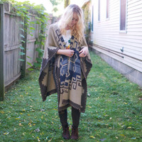 Retro RRL Ralph Lauren Native American Shawl