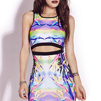 Neon Tropics Bodycon Dress