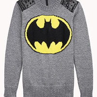 Studded Batman™ Sweater | FOREVER 21 - 2000110789