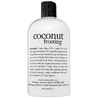 Sephora: Philosophy : Coconut Frosting Shampoo, Shower Gel & Bubble Bath : body-wash-shower-gel