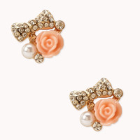 Hyperfemme Rose Studs