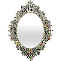 DENY Designs Home Accessories | Sharon Turner Cellular Ombre Baroque Mirror
