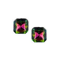 Iridescent Square Studs - Earrings - Jewelry - Bags & Accessories - Topshop USA