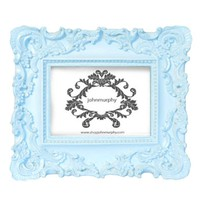 Supermarket: Sky Blue Picture Frame from John Murphy