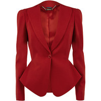Alexander McQueen One Button Jacket | Harrods