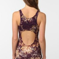 UrbanOutfitters.com &gt; Pins and Needles Floral Lace Backless Tank Top