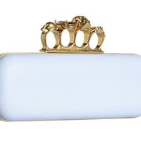 Alexander McQueen Knuckle Box Clutch Long Box Clutch