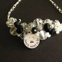 SImply Meant to Be - Nightmare Before Christmas Necklace- Spiffing Jewelry