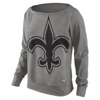 Nike Store. Nike Wildcard Epic (NFL Saints) Women's Sweatshirt