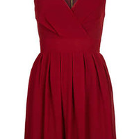 **Cross Bust Chiffon Dress by Wal G - Dresses  - Clothing