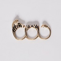 Zebra knuckle ring - Shop the latest Fashion Trends